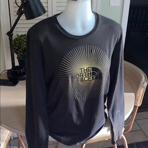 The North Face Long sleeved logo T-shirt
